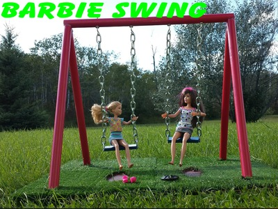 Barbie - How to make a Swing