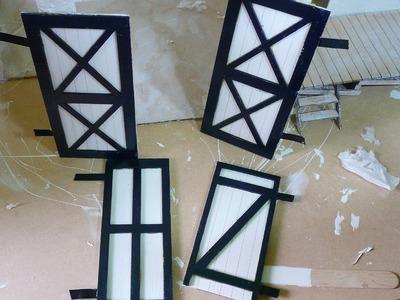 Building a Mini Building- the Doors
