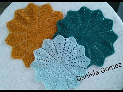 Carpeta a crochet # 3