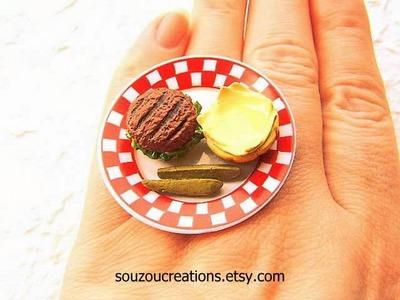 Coffee Cup, Tea Cup, Pancake Miniature Food Rings on Etsy