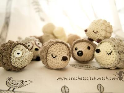 Crochet hedgehog part 1