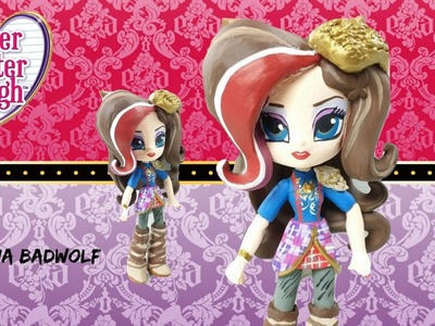 Custom! Ramona Badwolf Ever After High Equestria Girls Mini Tutorial | Start With Toys