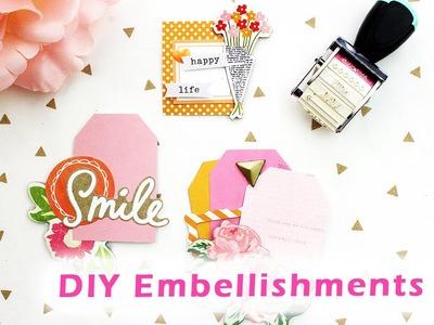 DIY Embellishments #4