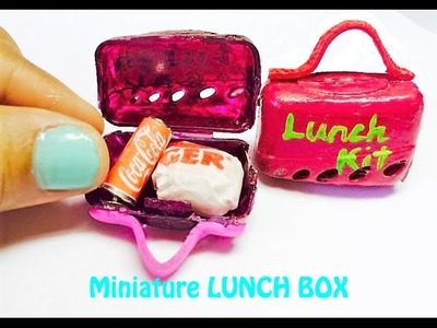DIY How to make MINIATURE LUNCH BOX from Toothbrush Cover!!! Tutorial