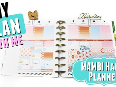 DIY PWM: DONUT THEME Plan With Me | MAMBI Happy Planner collab w. InspiredBlush, Vertical Layout #44