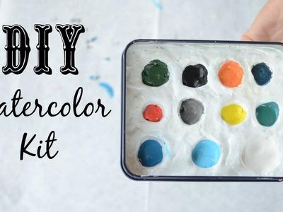 DIY Watercolor Kit