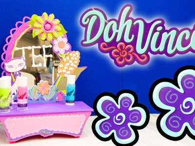 DOH VINCI PLAY DOH Vanity Design Kit Play Doh YouTube Toy Review