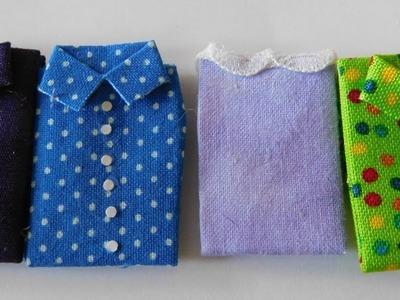 Dollhouse Miniature Folded Clothing