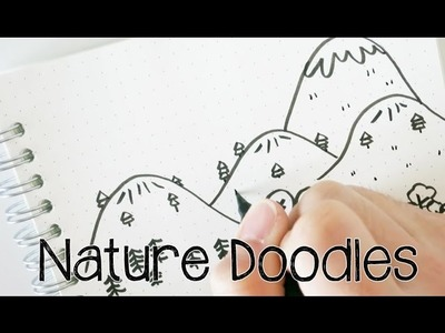 Doodle with Me : Nature Doodles