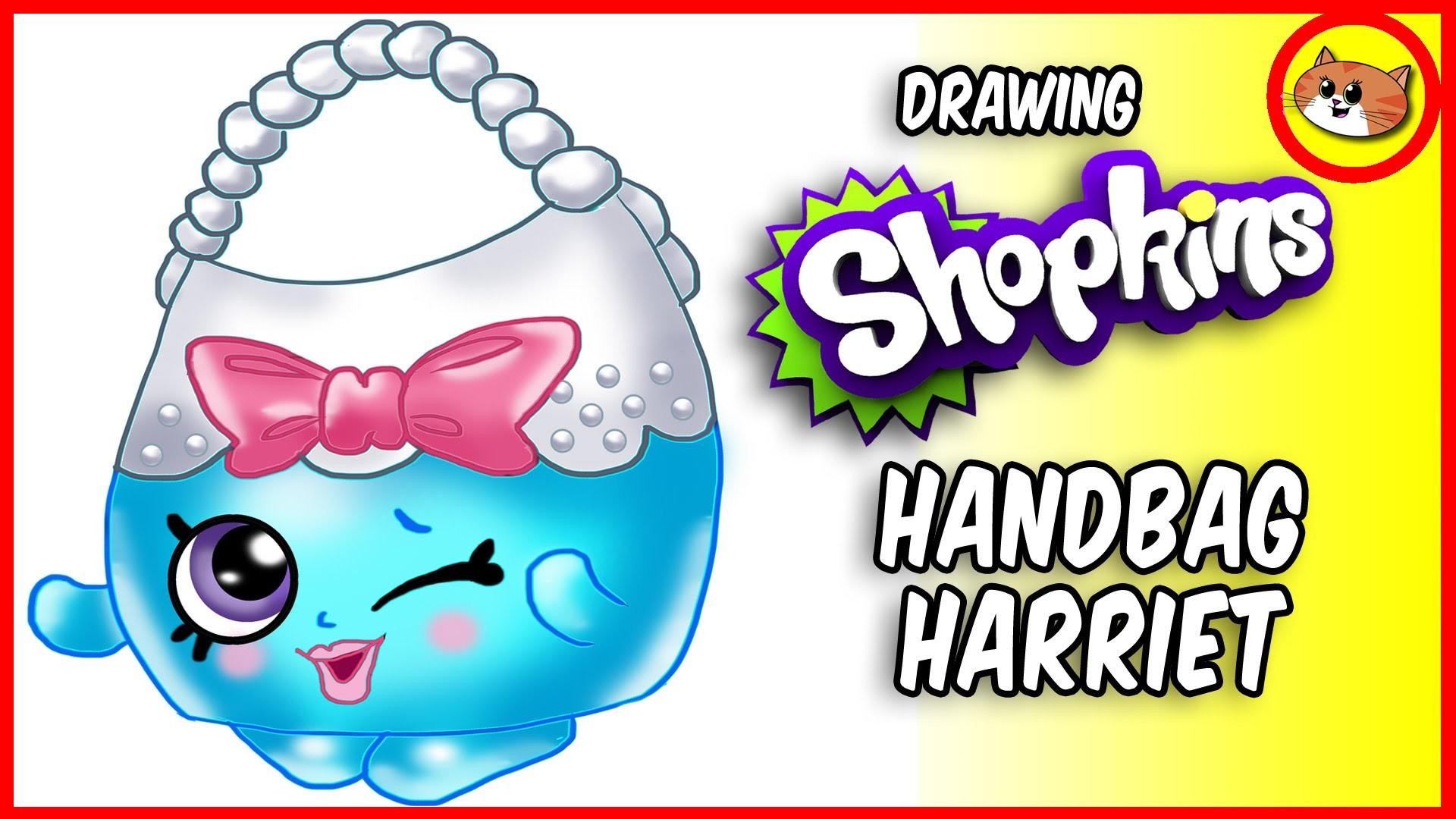 draw shopkins season 4 handbag fWow o