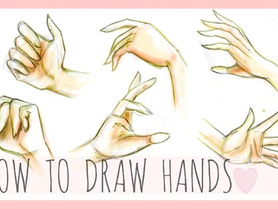Drawing Tutorial | How To Draw Hands