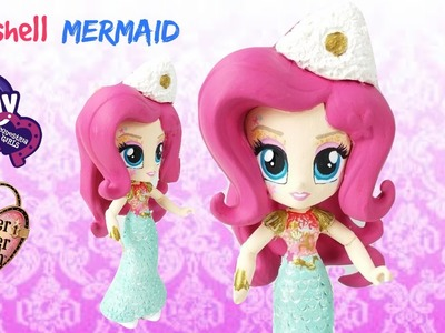 EAH Meeshell Mermaid Custom My Littly Pony Equestria Girls Mini DIY Makeover | Start With Toys