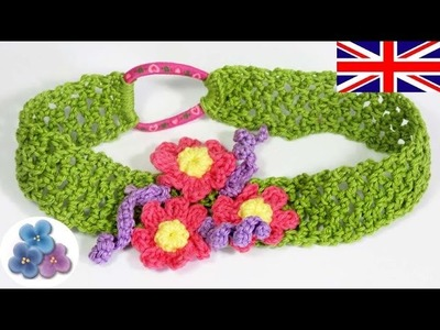 Headband Tutorial 20 minutes - How to make a Headband - Crochet Headband Mathie