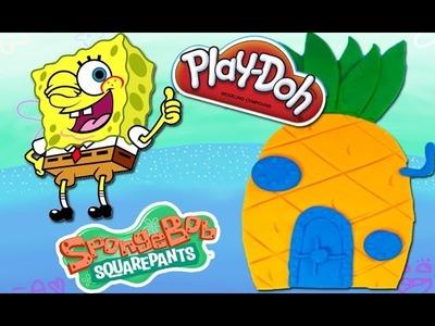 House Spongebob Squarepants Playdough Play Doh Toy