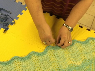 How To Block A Shawl