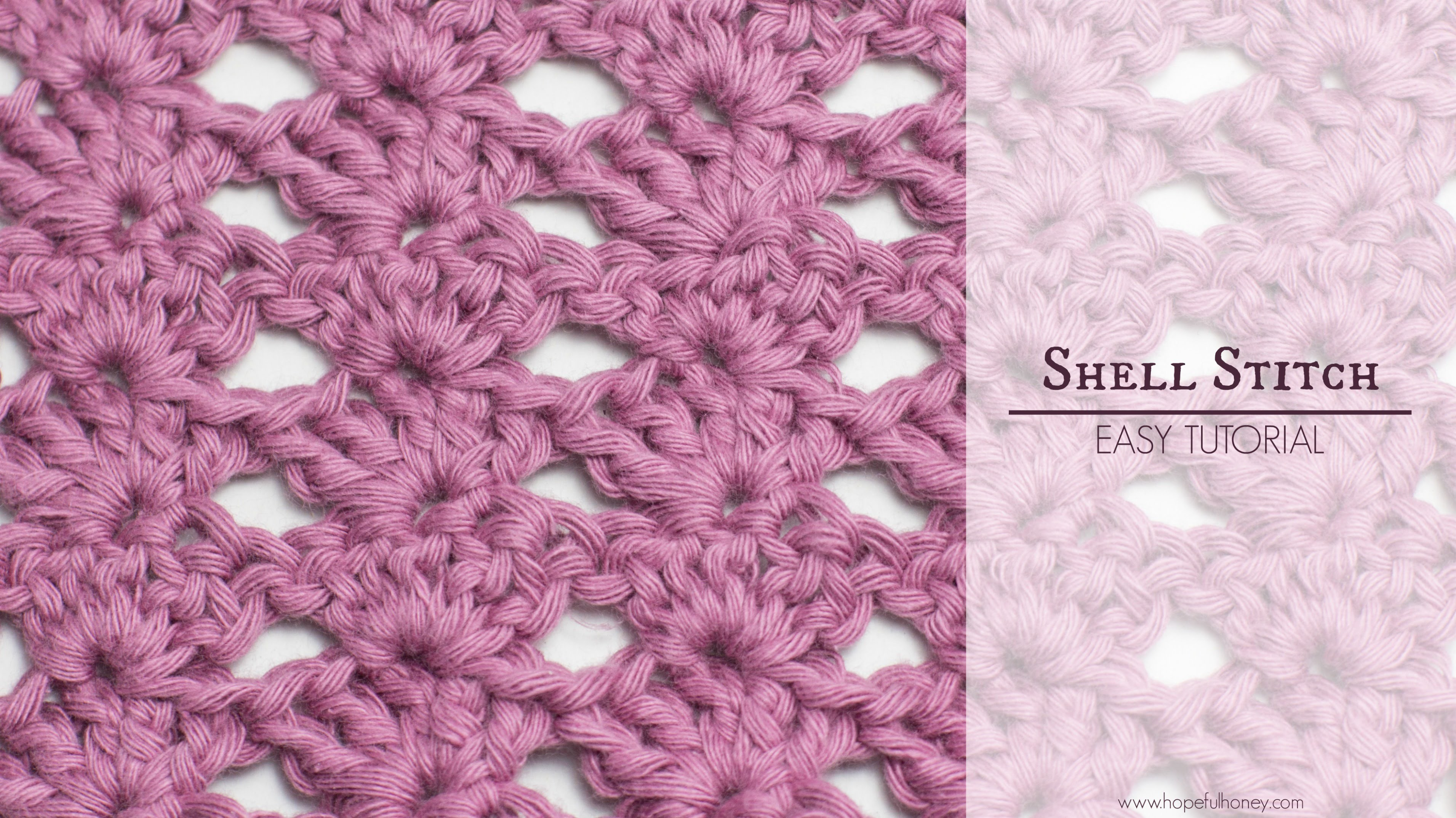 How To: Crochet The Shell Stitch - Easy Tutorial