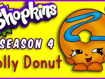 How to Draw Shopkins Season 4 Dolly Donut