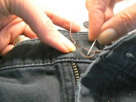 How to Fix Your Jean Button