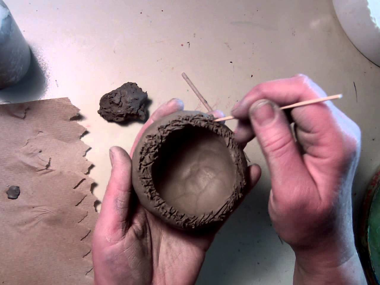 How to Make a Clay Rattle Ball