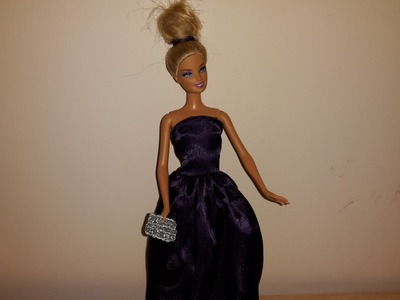 How to Make a Dolls Backless Strapless Gown-Very Glam; Hollywood Edition