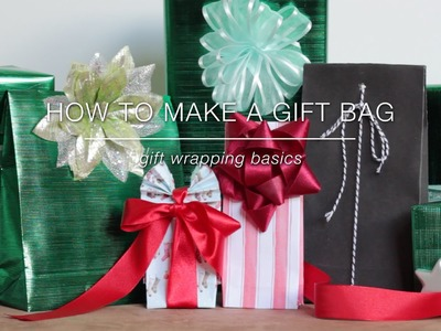 How to Make a Gift Bag | Gift Wrapping Basics