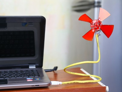 How to Make a USB Fan | DIY