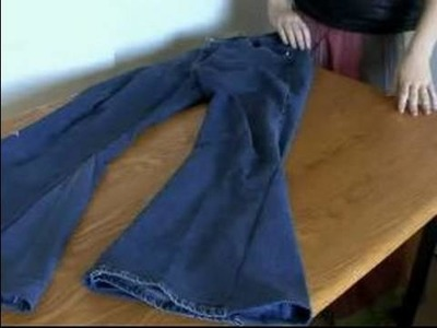 How to Make Bell Bottoms Out of Jeans : Your Jeans Are Now Bell Bottoms