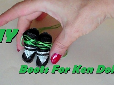 How to Make: Boots for Ken Doll (EASY)