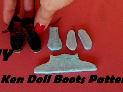 How to Make: Boots Pattern for Ken Doll (EASY)