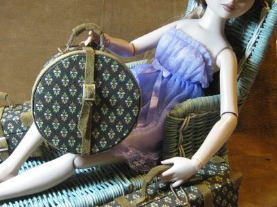 How to make doll travel  Luggage  ~ Part II ~