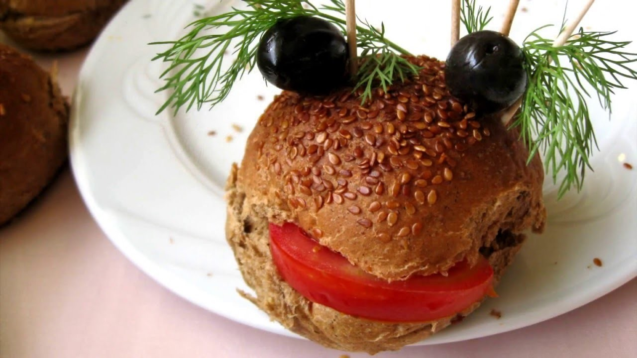 How to make funny sandwich