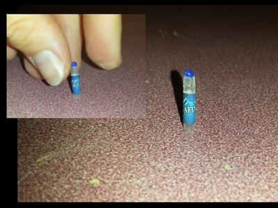 How to make Miniature Water Bottle