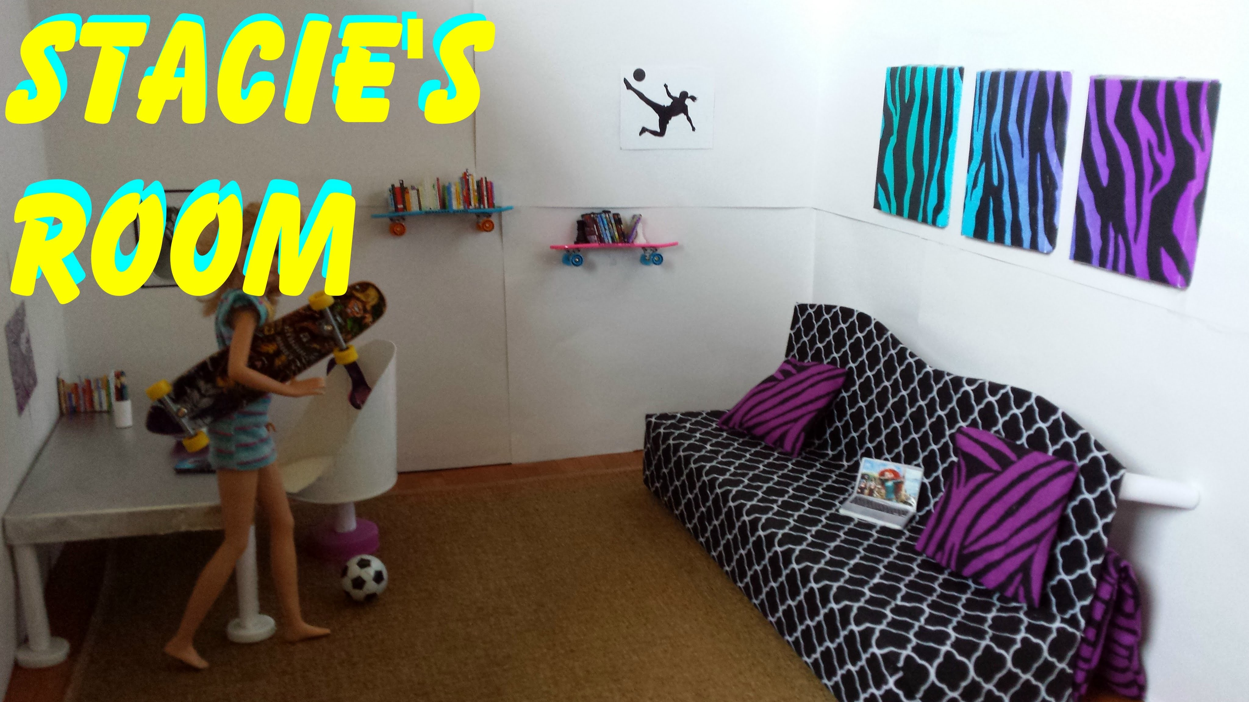 How to make Stacie's Room - Barbie