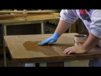 How to Restore Laminate Furniture : Furniture Restoration & General Care