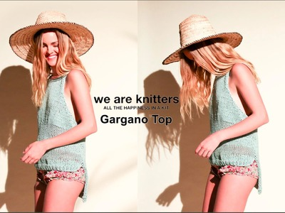 KNITTING TUTORIAL - WE ARE KNITTERS GARGANO TOP