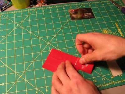 Mini Tutorial - Gift card holder