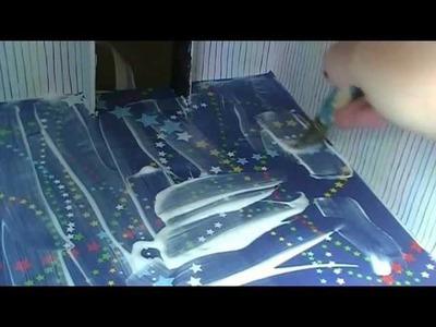 Miniature Building Construction Step 7 Installing the Flooring and Interior Trim