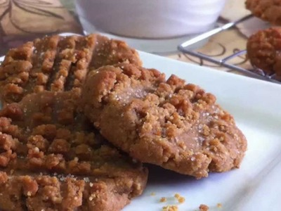 Peanut Butter Cookies ~ Low Carb ~ Sugar Free & Flour Free