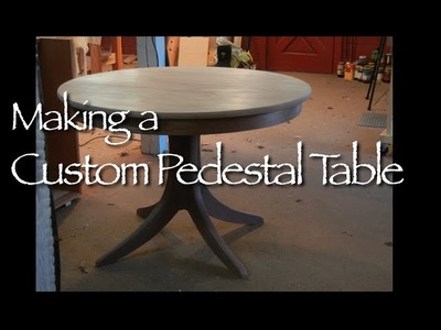 Pedestal Table Building Process by Doucette and Wolfe Furniture Makers