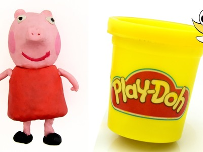 PEPPA PIG Play doh STOP MOTION video. Animación de Peppa Pig 4K 60FPS
