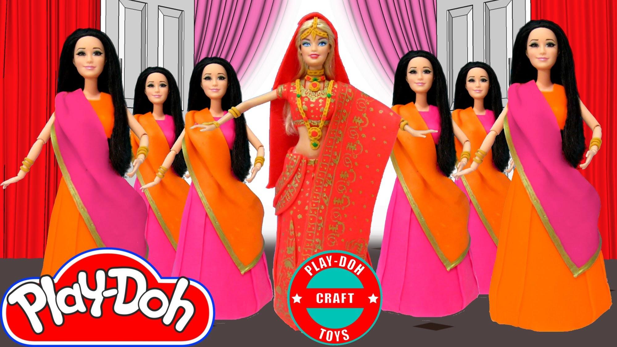 Play Doh Barbie & Raquelle  Iggy Azalea - Bounce Inspired Costume Play-Doh Craft N Toys
