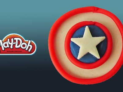 Play Doh Captain America's Shield