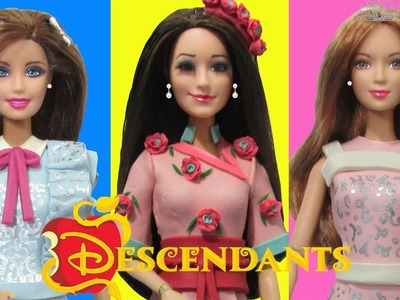 """Play Doh """"Descendants"""" Lonnie,Jane,Audrey Inspired Costumes"""