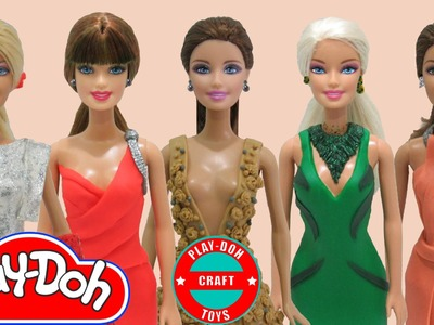 Play Doh Inspired Dresses Oscar 2015 Red Carpet