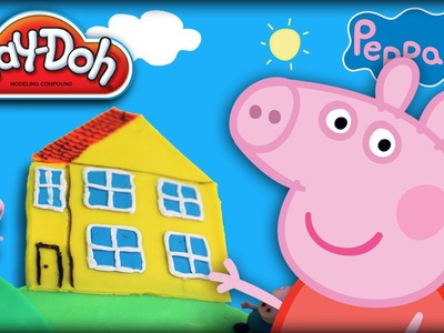 ♥ Play-Doh Peppa Pig House & Playground Set (PlayDoh Set & Peppa Pig Playset for Kids)