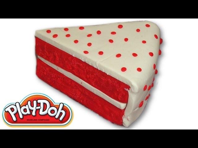 Play-Doh Red Velvet Cake
