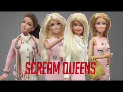 "Play Doh ""Scream Queens""Ariana Grande,Abigail Breslin,Billie Lourd,Emma Roberts Inspired Costumes"