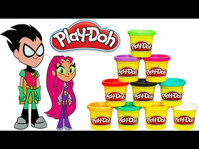 Play Doh Teen Titans Go: Play Doh Robin and Starfire Full HD