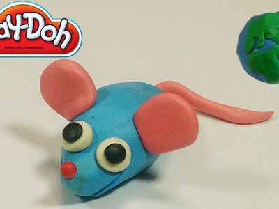 Play Doh Videos For Kids Cute Mouse Making Tutorial