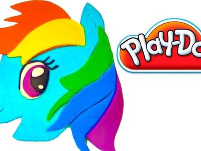 Playdoh My Little Pony playdo by lababymusica